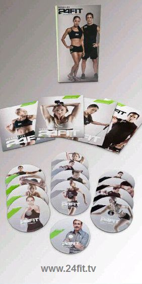 24 fit workout dvd