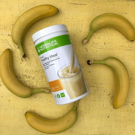 herbalife banana cream
