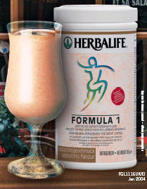 Meal replacements-Formula 1 protein drink